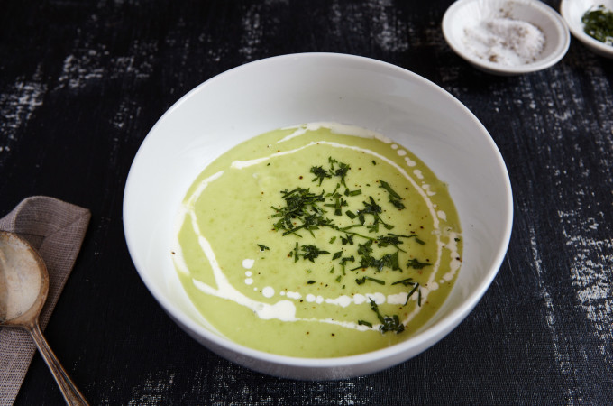 Chilled Avocado Soup 2
