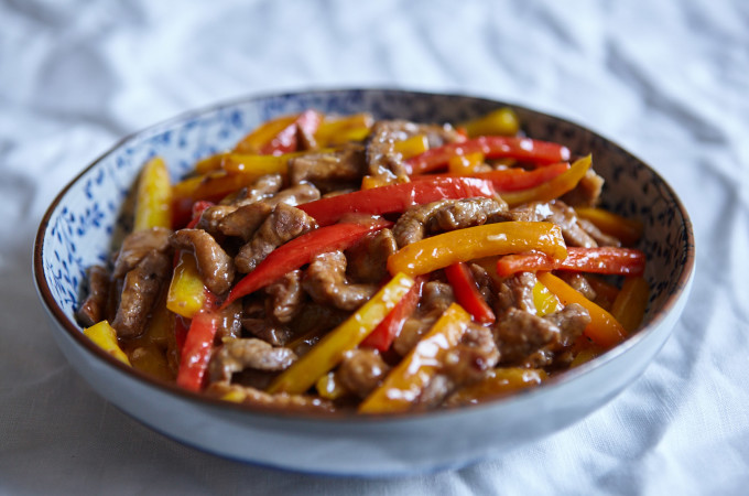Chinjao Rosu Beef and Pepper Stir Fry 2